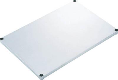 TRUSCO ステンレス製メッシュラック用 ベタ棚板 902X604 SES36F/1枚【2738856】