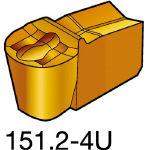 サンドビック TMax Qカット 突切り・溝入れチップ H13A N151.2200204U(OP:H13A)/10個【1733800】