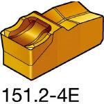 サンドビック TMax Qカット 突切り・溝入れチップ H13A R151.2300 054E(OP:H13A)/10個【1548719】