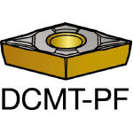 サンドビック コロターン107 旋削用ポジ・チップ 5015 DCMT 11 T3 04PF(OP:5015)/10個【1719432】