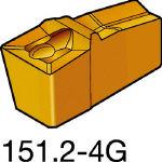 サンドビック TMax Qカット 突切り・溝入れチップ H13A N151.2500404G(OP:H13A)/10個【1548328】