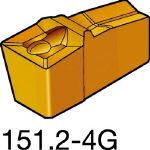 サンドビック TMax Qカット 突切り・溝入れチップ H13A N151.2800604G(OP:H13A)/10個【1548492】