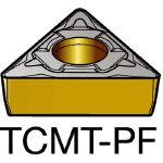 サンドビック コロターン107 旋削用ポジ・チップ 5015 TCMT 16 T3 04PF(OP:5015)/10個【2506955】