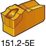 サンドビック TMax Qカット 突切り・溝入れチップ 2135 N151.24005E(OP:2135)/10個【2489236】