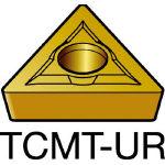 サンドビック コロターン107 旋削用ポジ・チップ 2025 TCMT 11 02 08UR(OP:2025)/10個【1277090】