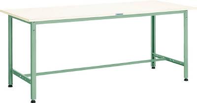 TRUSCO AE型作業台 1800X600XH740 AE1860/1台【2385651】 【個人宅配送不可】