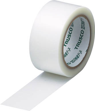 TRUSCO クロス粘着テープ 幅50mmX長さ25m クリア 透明 GCT50(OP:TM)/30巻【1535342】