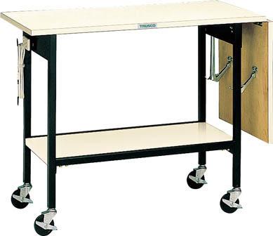 TRUSCO 折畳み天板付キャリー 900(1350)X450XH730 S6/1台【5051291】