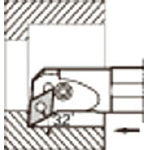 京セラ 内径加工用ホルダ  S25RPDUNR1132/1個【6457550】