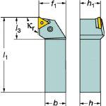 サンドビック TMax P ネガチップ用シャンクバイト PTGNL 1616H 16/1個【6037551】