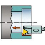 サンドビック コロターン107 ポジチップ用カートリッジ STFCR 12CA16M/1個【6076289】