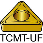 サンドビック コロターン107 旋削用ポジ・チップ 235 TCMT 11 02 04UF(OP:235)/10個【6057446】