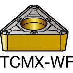 サンドビック コロターン107 旋削用ポジ・チップ 1525 TCMX 09 02 04WF(OP:1525)/10個【6057560】