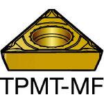 サンドビック コロターン111 旋削用ポジ・チップ 2015 TPMT 11 03 04MF(OP:2015)/10個【6107303】