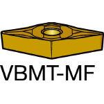 サンドビック コロターン107 旋削用ポジ・チップ 2015 VBMT 16 04 08MF(OP:2015)/10個【6058281】