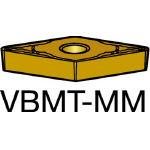 サンドビック コロターン107 旋削用ポジ・チップ 2035 VBMT 16 04 04MM(OP:2035)/10個【6107371】