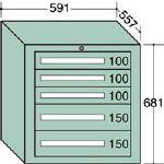 OS 軽量キャビネット 5606/1台【4571266】