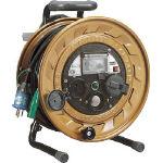 ハタヤ メタルセンサー(金属感知機能付)リール 単相100V接地付 30m MSB301KX/1台【1055607】