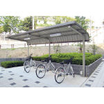 ダイケン 自転車置場サイクルロビー 基準型スチール 間口2550 CYLSE25G/1台【4619056】【運賃別途】