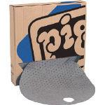 pig 210L用バレルトップピグマット (25枚/箱) MAT208109/1箱(25枚入)【4060733】