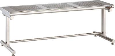 TRUSCO SUS304パンチングクリーンベンチ W1200 CBP1200/1台【4588266】