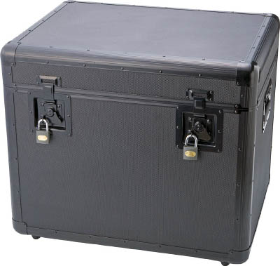 TRUSCO 万能アルミ保管箱 黒 610X457X508 TAC610BK/1個【4162960】