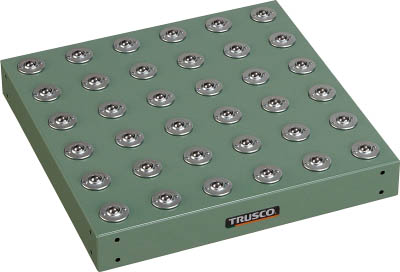 TRUSCO フリーテーブル 450X450 P75 C5LX36 FT4575/1台【4668511】