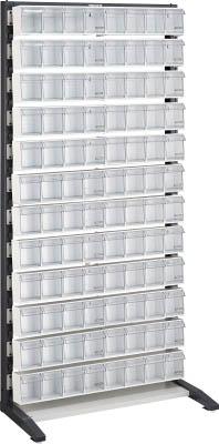 TRUSCO UPRラック片面 H1900 ポケットケース付 UPRL1812E/1S【3933121】