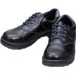 シモン 安全靴 短靴 SL11BL黒/ブルー 23.5cm SL11BL23.5/1足【4007271】