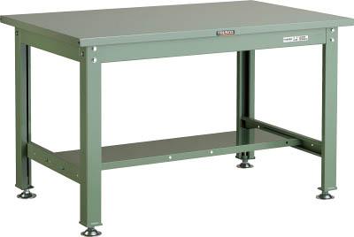 色々な 900X750XH740 SHW型作業台 TRUSCO SHW0975(OP:GN)/1台【2408996】 【個人宅配送】:タニックスショップ 店-DIY・工具