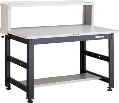 TRUSCO UTM型作業台 900X750XH740 上棚付 UTM0975YURB/1台【2851881】