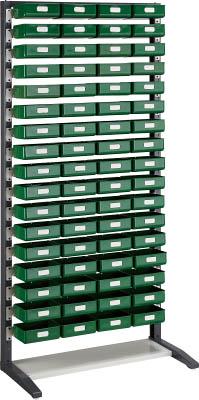 トラスコ中山 TRUSCO UPR型ライトビンラック K-20HX68個 UPR-L1817KL 商い 1S 40%OFFの激安セール UPRL1817KL 3304639 K20HX68個
