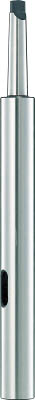 TRUSCO ドリルソケット焼入研磨品 ロング MT2XMT2 首下150mm TDCL22150/1個【4026268】