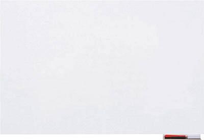 TRUSCO 吸着ホワイトボードシート 900×1200×1.0 TWKS90120/1枚【4154193】