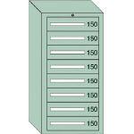 OS 軽量キャビネット5型 最大積載量600kg 引出し8段 51202/1台【4571118】
