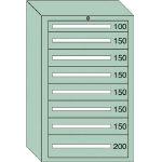 OS 重量キャビネットDX型 最大積載量1500kg 引出し1×6×1段 DX1219/1台【4572017】