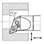 京セラ 内径加工用ホルダ S32SPDUNL1544/1個【6535275】