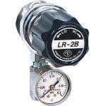 分析機用ライン圧力調整器 LR2B L9タイプ LR2BRL9TRC/1台【4344651】