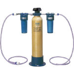 ORGANO カートリッジ純水器標準セット(電気伝導率計・前後フィルター付) G5DSTSET/1組【4526520】
