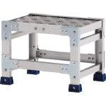 アルインコ 作業台(天板縞板タイプ)1段 CSBC138S/1台【4439821】