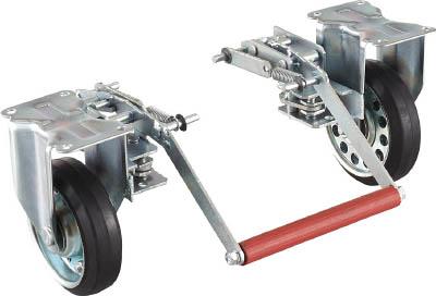 TRUSCO ドンキーカート 100番用ブレーキ固定車輪付 100NKB/1台【4144937】