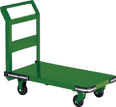 TRUSCO 鋼鉄製運搬車 1400X750 Φ200鋳物車輪 OH1L/1台【5049539】