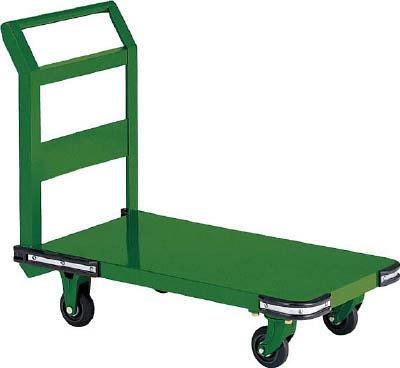 TRUSCO 鋼鉄製運搬車 1200X600 Φ150鋳物車輪 OH2L/1台【5049466】