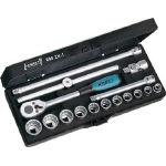 【タイムセール!】 880ZN1/1S【4395492】:タニックスショップ 店 HAZET ソケットレンチセット(12角タイプ・差込角9.5mm)-DIY・工具