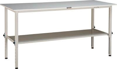 【オンラインショップ】 TRUSCO RAEM型高さ調整作業台 1800X750 RAEM1800LT2 下棚2枚付 W色 RAEM1800LT2 W W/1台【4545869】/1台 W色【4545869】, ペット健康便:e45cb03f --- totem-info.com