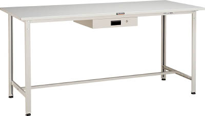 TRUSCO HSAE型立作業台 1800X900XH900 薄型1段引出付 W HSAE1809UDK1 W/1台【4544811】