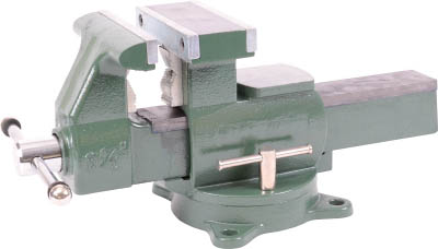 TRUSCO 回転台付メカニックバイス(2WAYタイプ) 165mm TDWV165/1台【4455541】
