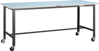 トラスコ中山 TRUSCO BE型軽量作業台 900X600 車輪付 爆買いセール BE-0960C75 1台 割り引き BE0960C75 個人宅配送不可 4543459