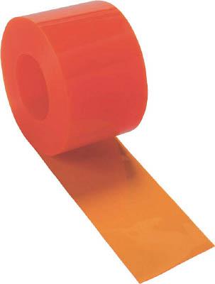 TRUSCO ストリップ型間仕切りシート防虫オレンジ2X200X30M TSBO22030/1巻【4473833】
