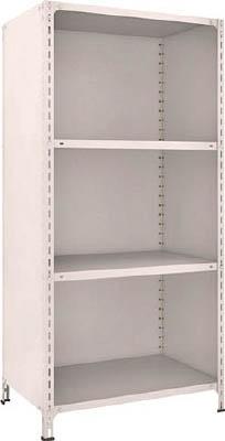 TRUSCO 軽量棚背板・側板付 W875XD600XH1800 4段 63W24(OP:NG)/1S【5039282】